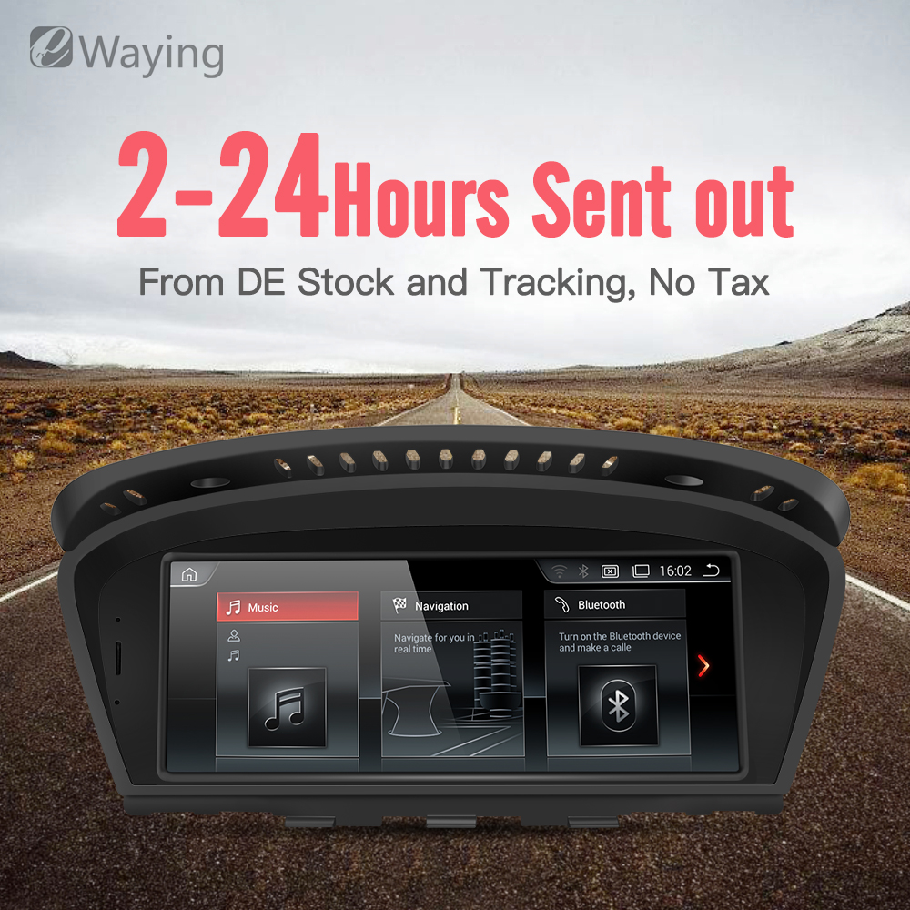 Ewaying 8.8 Android7.1 2G+32G for CCC IPS Car Interface MultiMedia for BMW Series3 5 E60 E61 E90 E91 GPS navigation цена