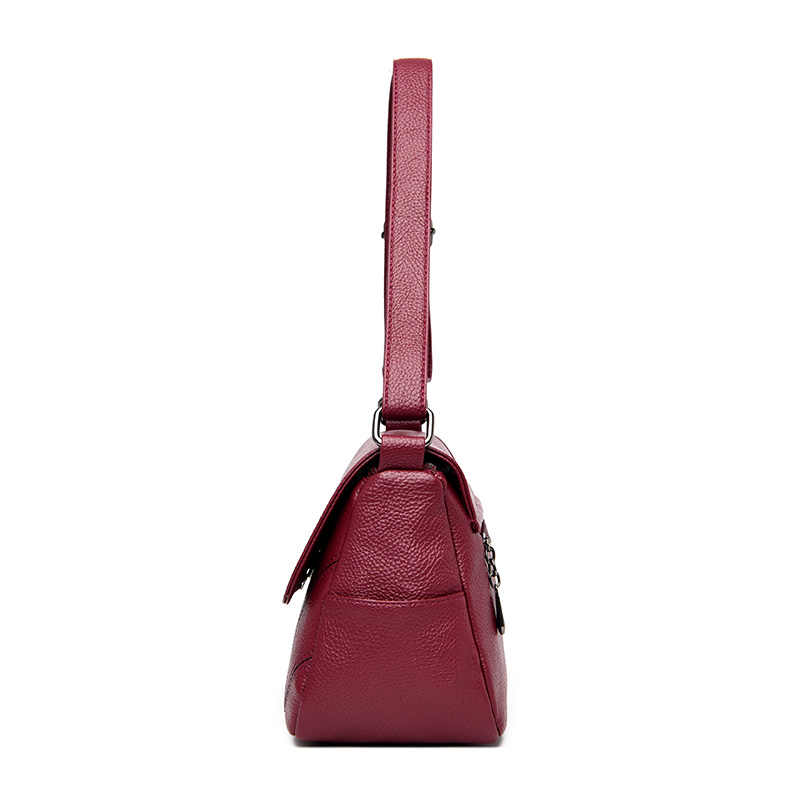 2019 Nova Moda Sacos de Ombro das Mulheres de Couro Pequenas Bolsas De Luxo Mulheres Sacos De Designer De Marca D Saco Vermelho das Mulheres bolsas Feminina