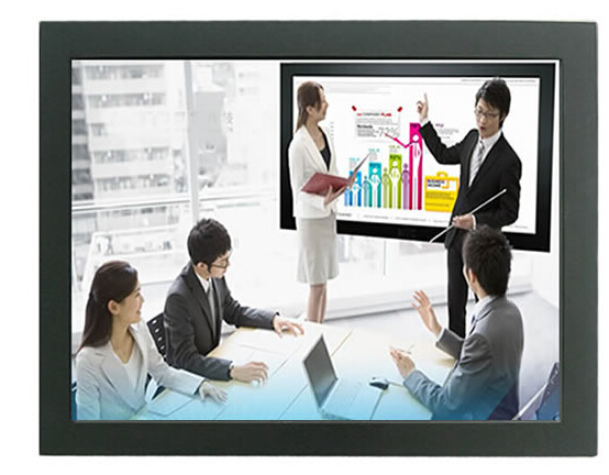 <font><b>24</b></font> <font><b>inch</b></font> Open Frame Touch monitor & Metal Frame <font><b>Display</b></font> with VGA& AV image