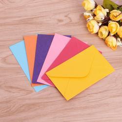 50 шт. Ретро пустой мини бумажные конверты приглашение на празднование свадьбы поздравительные открытки подарок