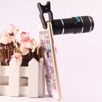 Universal Clip 12X Zoom Telephoto Telescope Camera Phone Lens For XiaoMi Redmi 2 2A Note Note