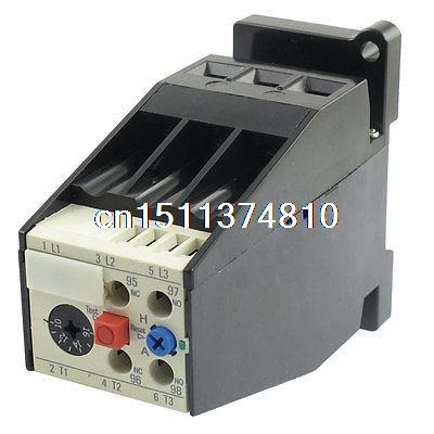 AC 10A - 16A Motor Protection Thermal Overload Relay 1 NO 1 NC 2 pin thermal overload protection