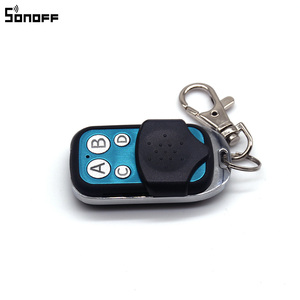 Image 4 - Sonoff 433MHz 4 Channel RF Remote Controller ABCD 4 Buttons for Sonoff RF Slampher 4CH Pro R2 T1 Electric Remote Key Fob Control