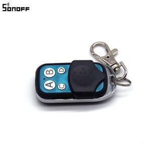 Image 4 - Sonoff 433MHz 4 Kanal RF Fernbedienung ABCD 4 Tasten für Sonoff RF Slampher 4CH Pro R2 T1 Elektrische remote Key Fob Control