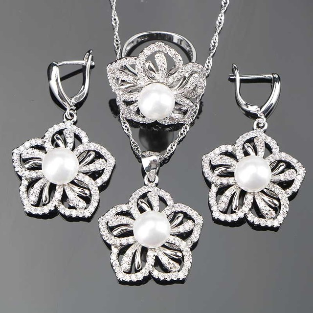 Silver-925-Pearl-Jewelry-Sets-Women-Wedding-Decorating-Pendant-Necklace-Rings-Earrings-With-Stones-Set-Free.jpg_640x640.jpg