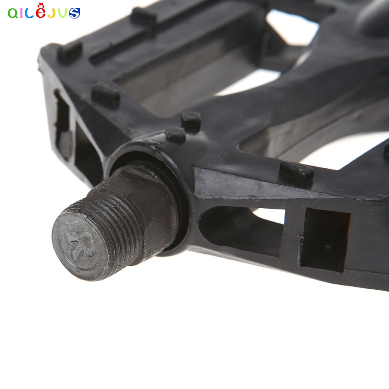 Bicycle Pedals Reflective Plastic Cycling Anti Slip Universal Mountain Road Bike