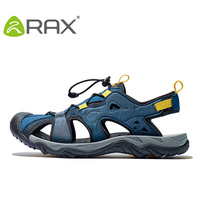RAX Mens Sports Sandals Summer Outdoor Beach Sandals Men Aqua Trekking Water shoes Men Upstream Shoes Women Quick drying Shoes