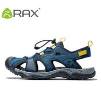 RAX Mens Sports Sandals Summer Outdoor Beach Sandals Men Aqua Trekking Water shoes Men Upstream Shoes Women Quick drying Shoes