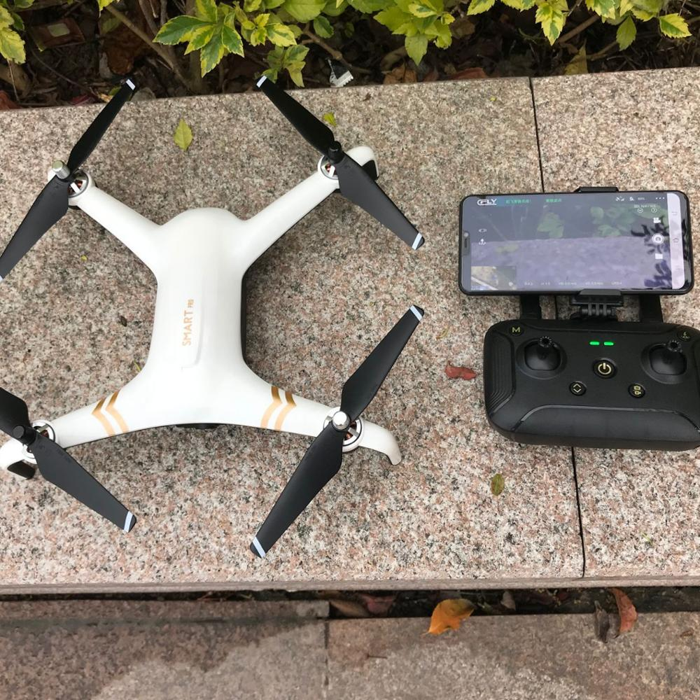 CFLY Smart Pro Upgraded Drone With Brushless Motor 1km fpv GPS 2 Axis Gimbal Stable Video Ultrasonic Optical Flow Position hold