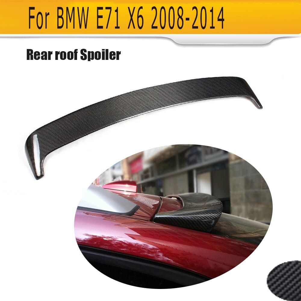 Becquet de toit en Fiber de carbone pour BMW E71 X6 2008-2013 HM Style