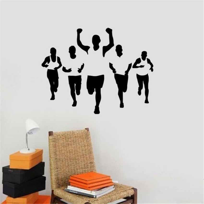 Popular Wall Decal FitnessBuy Cheap Wall Decal Fitness Lots From - Sporting wall decals