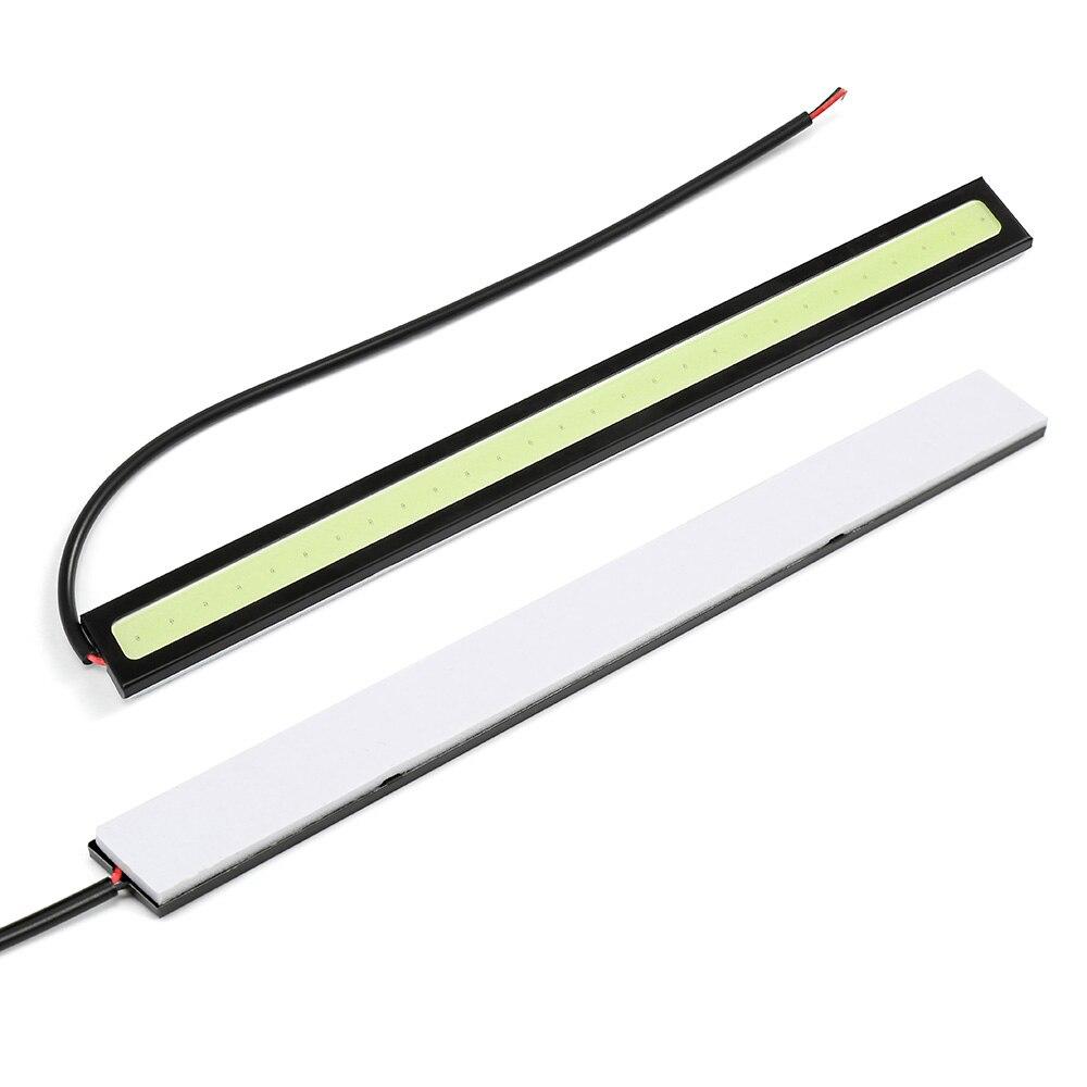 Дхо Автомобильные дневные ходовые огни COB линейный светильник DRL светодиодный автомобильный фонарь наружный фонарь, автомобиль водонепроницаемый Автомобильный светодиодный для chery tiggo для универсального