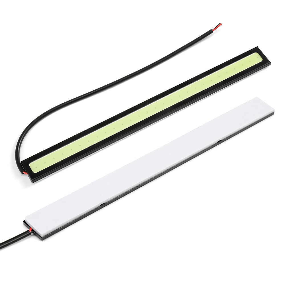 Car Styling 1 Pcs Ultra Bright LED Daytime Running lights 17cm Waterproof Auto Car DRL COB Driving Fog lamp for bmw kia