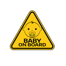 Interesting PVC Car Sticker Baby on Board Auto Tail Accessorie Wrap Pro
