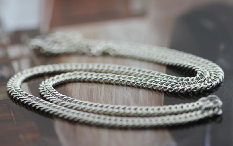 Collier de chaîne clavicule en argent pour hommes