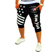 Shorts Mens Tights Compression Palm Print Design Bermuda Short Men Homme XXL QSXVVX