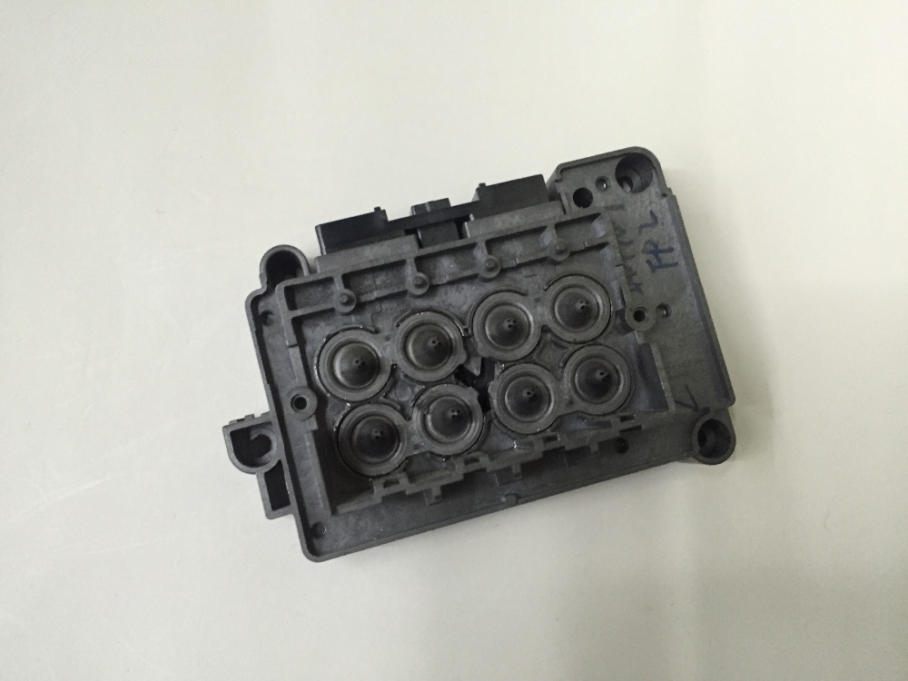 Eco solvent printer Xenons Titan jet Wit color DX7 print head cover F189010 DX7 manifold DX7 solvent adapter