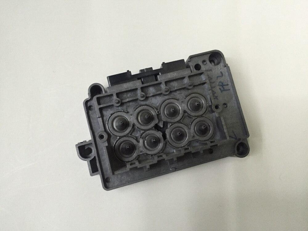 Eco solvente impressora xenons titan-jet wit-color tampa da cabeça de impressão dx7 f189010 dx7 colector dx7 solvente adaptador