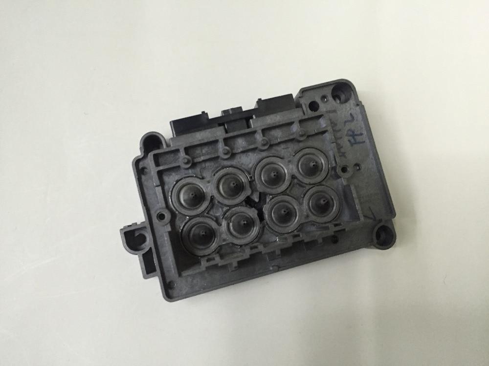 Stampante eco solvente testina di stampa a getto wit-color dx7 xenons titan copertura collettore f189010 dx7 dx7 solvente adattatore