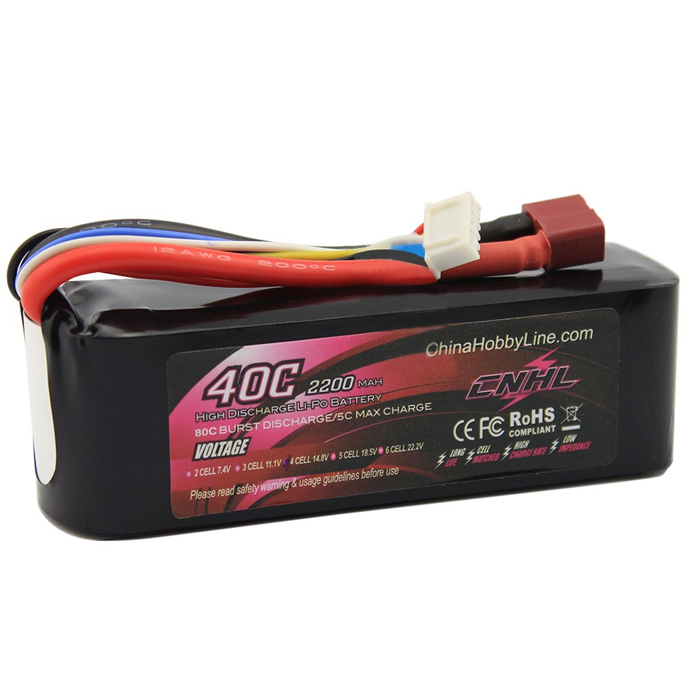 CNHL LI-PO 2200mAh 14.8V 40C(Max 80C) 4S Lipo Battery Pack for RC Hobby free shipping бюстгальтер patti belladonna белый 80c ru