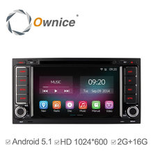 1024*600 C200 Ownice Quad Core Android 5.1 Coches Reproductor de DVD Para Volkswagen VW TOUAREG 2002 2003 2004 2005 2007 2010 GPS 2G/16G