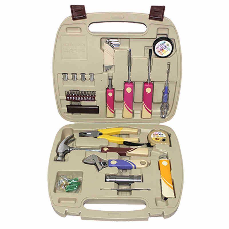 ФОТО G  T Portable repairing household manual combination tool set professional electronic hardware repair tool kit R