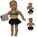 "Мода Стиль 18 American Girl Куклы Бикини для 18 ""American Girl Куклы и Другие 18 дюймов Куклы Девушки"