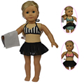 """Fashion Style 18 American Girl Doll Clothes of Bikinis for 18"""" American Girl Dolls & Other 18 inch Girl Dolls"""