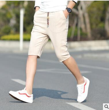 Casual male loose man summer  3