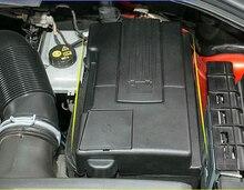 Auto Batteria COMPLETA Protegge La Copertura Del Motore Positivo Elettrodo Negativo Impermeabile Antipolvere Della Protezione Per Skoda Kodiaq VW Tiguan 2016-2018