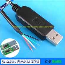 wire serial pl2303 usb