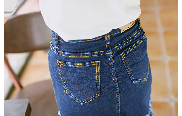 HTB1Zzs2MpXXXXbZXXXXq6xXFXXXh - Denim Skirt Irregular Tassels Midi Skirt JKP170