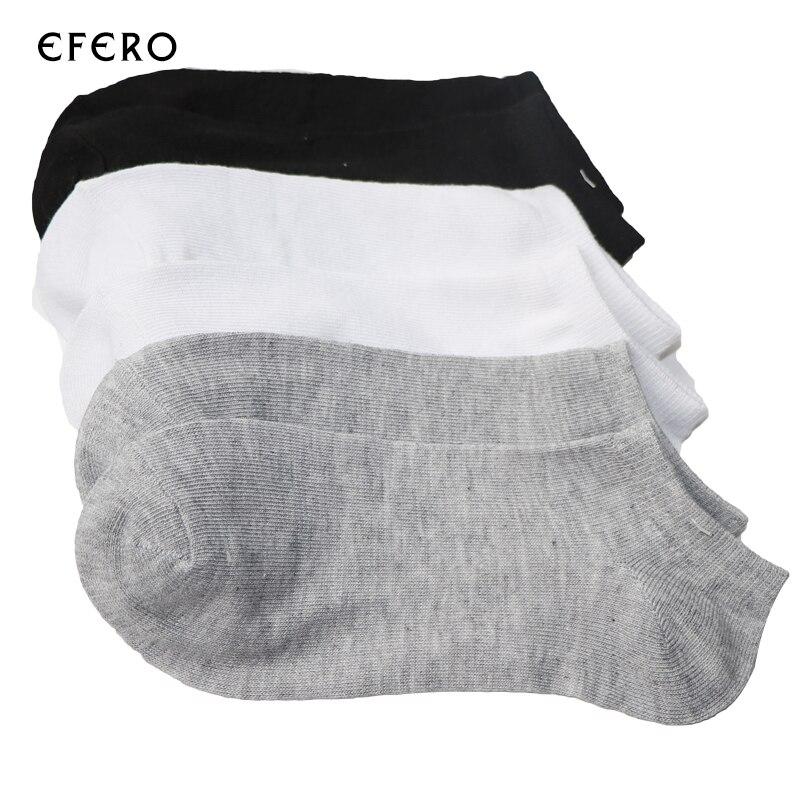 10pair Male Short Socks Low Cut Cotton Blends Lot Boat Socks Ankle Invisible Socks For Men Mens Short Socks Black White