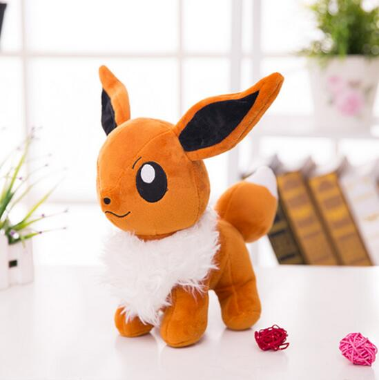 33cm Eevee plush toys lovely doll super cute for kid friend gift girl Children birthday present Room decoration 50cm lovely super cute stuffed kid animal soft plush panda gift present doll toy