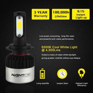 Image 5 - Nighteye スーパー H7 led ランプ h1 h11 hb3 hb4 H4 led オート電球車の電球オート led ランプフロント車の電球 H11 フォグランプ HB3 HB4