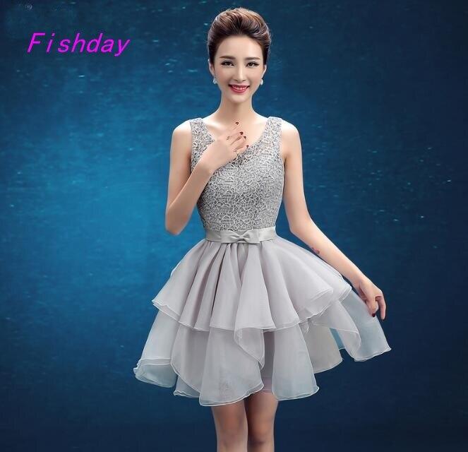 Online Get Cheap Short Semi Formal Dresses for Juniors -Aliexpress ...