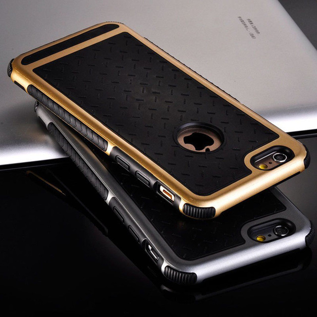 watch aad4e 96778 US $4.59 28% OFF|For Apple iPhone Case Rubber TPU Silicone Shockproof Back  Cover Case For iPhone 6 6S / Plus / SE and 5 5s Anti knock Phone Case-in ...