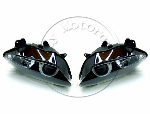 Motorcycle Front Headlight For YAMAHA YZFR1 2007 2008 YZF 1000 R1 Head Light Lamp Assembly Headlamp Lighting Moto Parts motoo free shipping for yamaha yzf r1 r1 2007 2008 motorcycle front light headlight upper bracket pairing