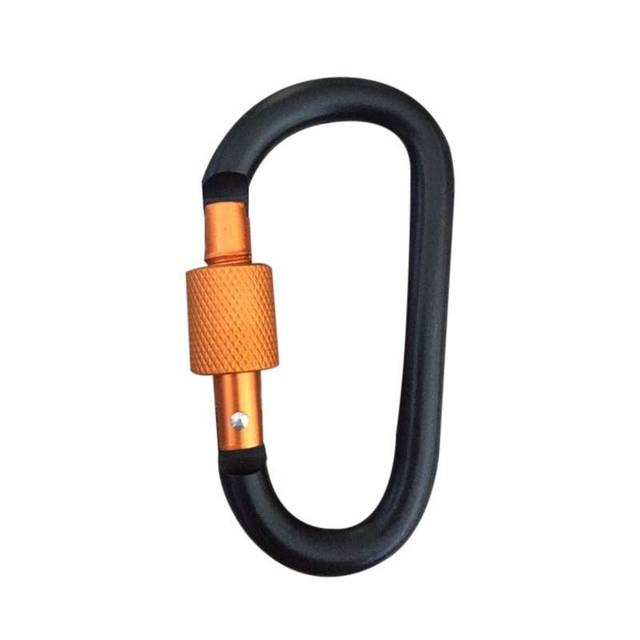 Colorful Aluminum Carabiner with Lock