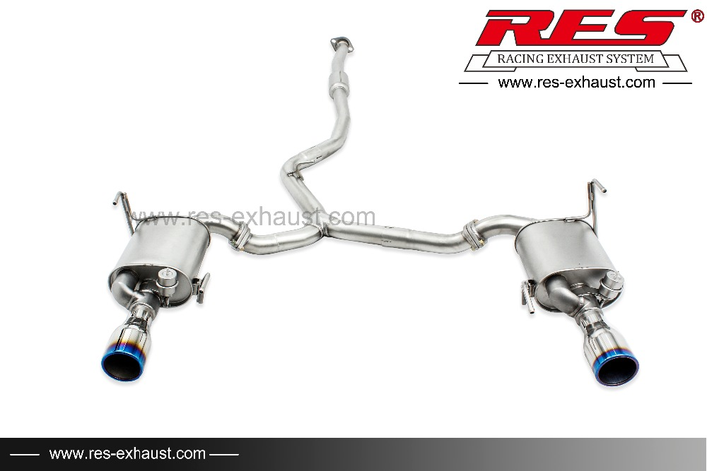 High Quality Car Exhaust Pipe Catback Muffler For Subaru Forester: Subaru Forester Exhaust At Woreks.co