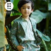 2018 Spring Autumn Children Clothing Sets Kids Clothes Suits Boys Gentleman Fashion Wedding Formal Clothes Sets Blazer Pant