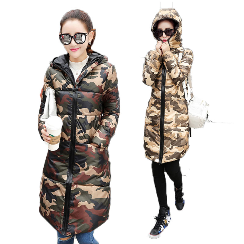Women's Down Jacket In Winter  The New Design And Color Joker Cotton-padded Clothes/cotton-padded Jacket, Long Straight Coat