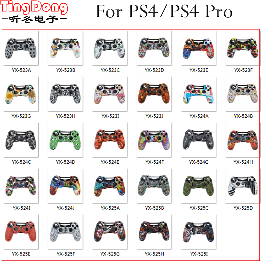 tingdong-29colors-silicone-case-for-sony-font-b-playstation-b-font-dualshock-4-ps4-slim-pro-controller-protective-camo-skin-cover