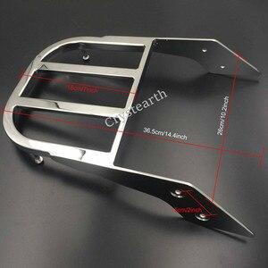 Image 5 - Chrom/czarny motocyklowe oparcie kierowcy bagażnik uchwyt do Honda VTX 1300C 1800C 1800F VTX1300C VTX1800C VTX1800F