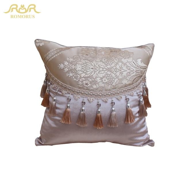 romorus european jacquard cushion