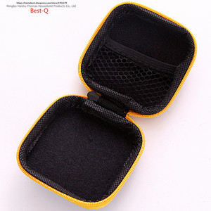 Image 5 - Free shipping mobile phone data line charger, finger tip gyro packing box, earphone storage bag, EVA earphone bag