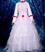 Anime Euphemia Li Britannia/Euphy cosplay Code Geass cos sweet Luxurious elegant Halloween Christmas pink Wedding dress costume