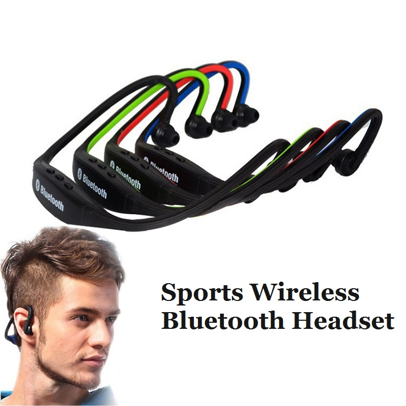 Sports Wireless Headset Bluetooth Headphone Handsfree Running Stereo Bluetooth Headphone For iPhone Samsung Xiaomi Mobile Phone mini stereo bluetooth headset wireless bluetooth handsfree earphone universal for iphone samsung mobile phone headphone