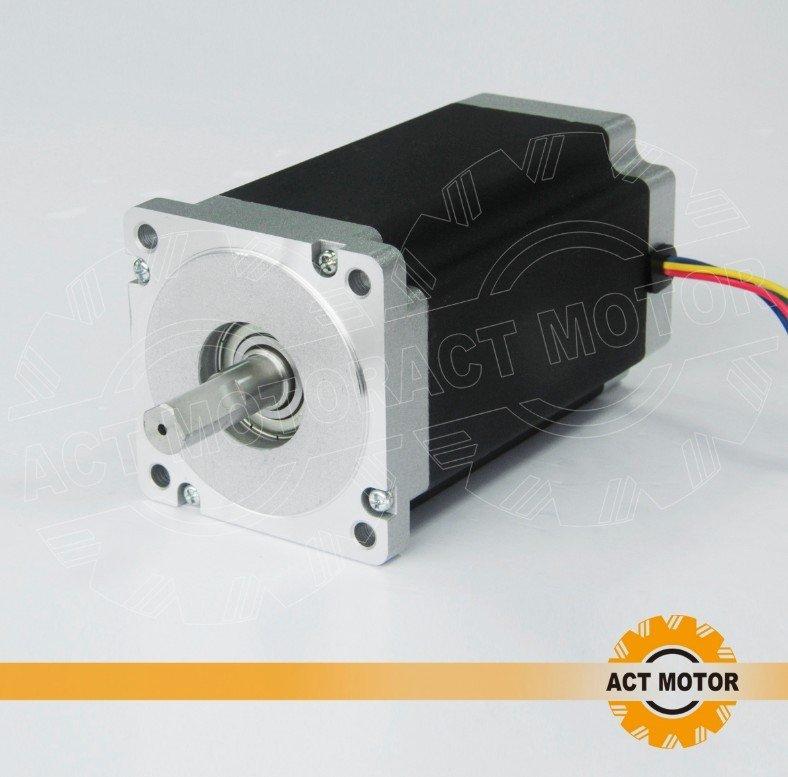 ACT 4-lead nema 34 stepper motor  151mm/ 6.0A / 12n.m(1700oz) engaving machineACT 4-lead nema 34 stepper motor  151mm/ 6.0A / 12n.m(1700oz) engaving machine