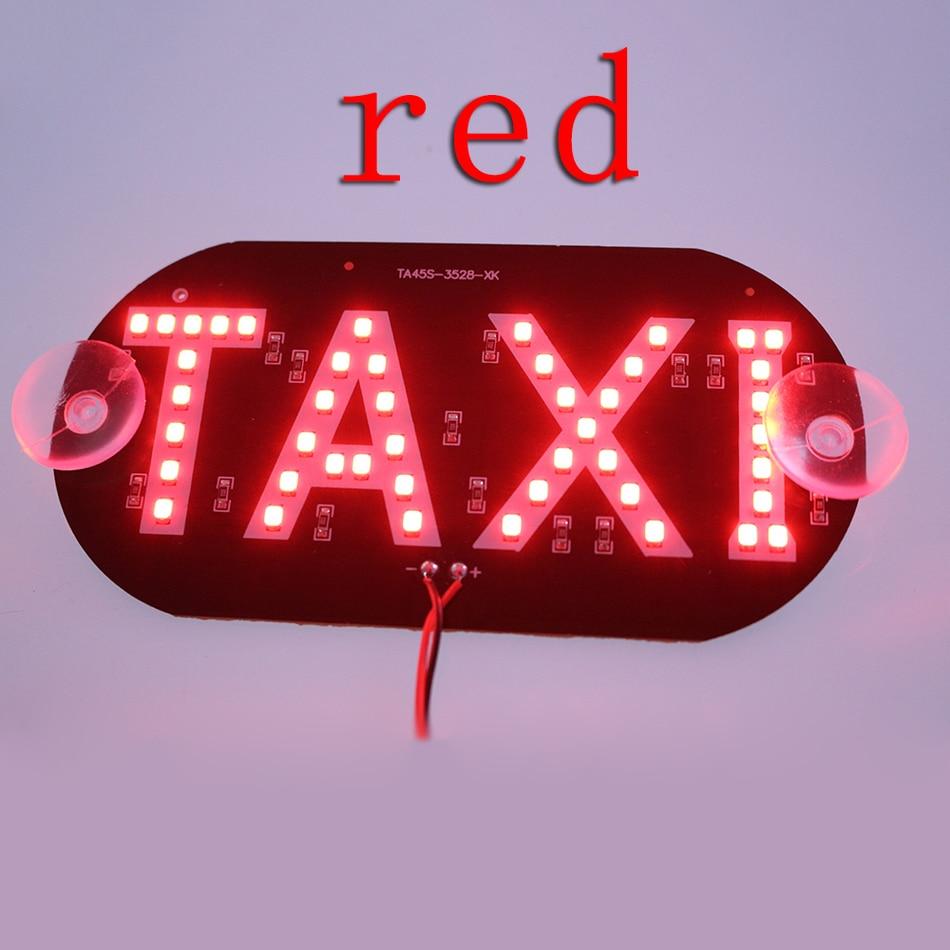 GEETANS 1pc / lot 12V Taksi Led Avtomobil Külək Kabin göstəricisi - Avtomobil işıqları - Fotoqrafiya 2